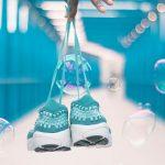 Ζευγάρι αθλητικά παπούτσια για τρέξιμο