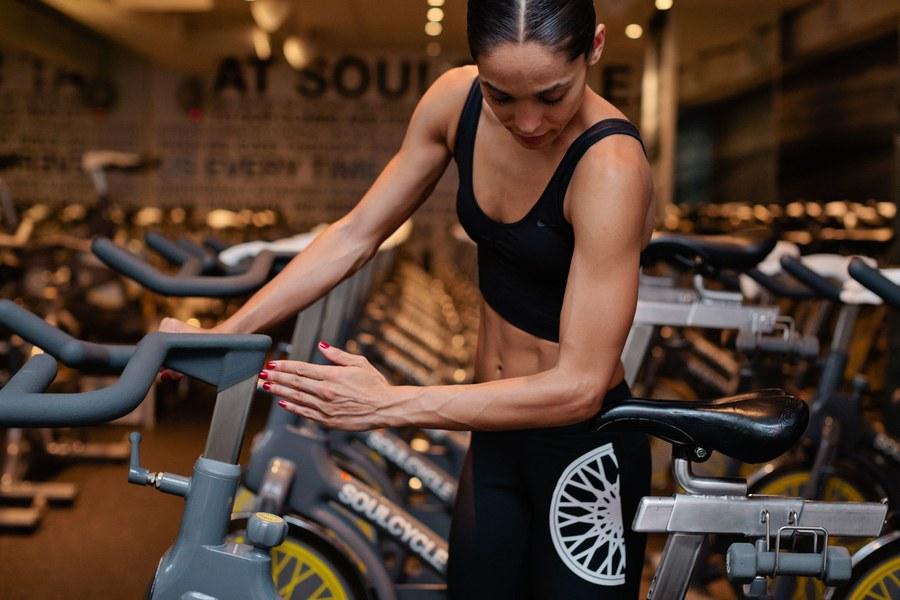 Ρύθμιση Σέλας ποδηλάτου spinning power cycling