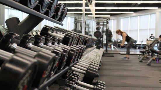 γυμναστήριο βάρη προπόνηση