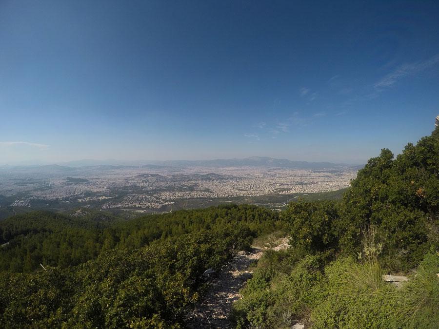 Υμηττός θέα από την Διχάλα