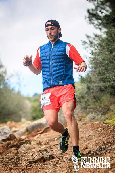 Τρέξιμο Αθλητή Αργυράκης Γιώργος Υμηττός