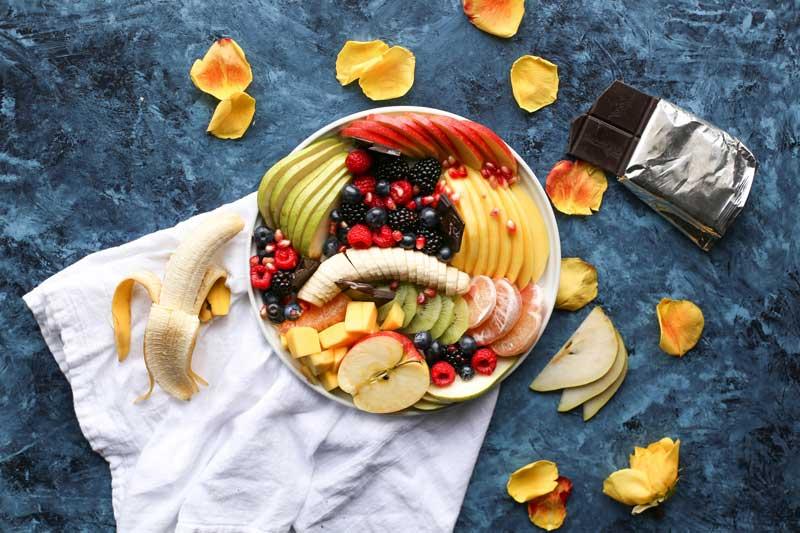 Θερμίδες φρούτων θερμιδομετριτής