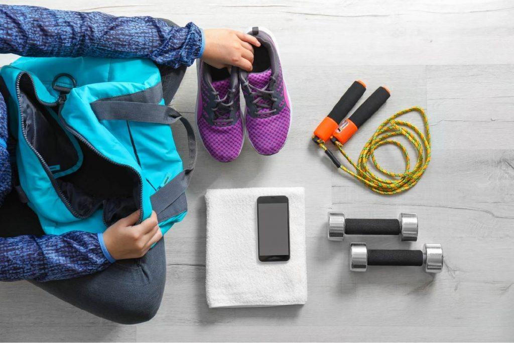 Τι πράγματα να έχεις μαζί σου στο γυμναστήριο