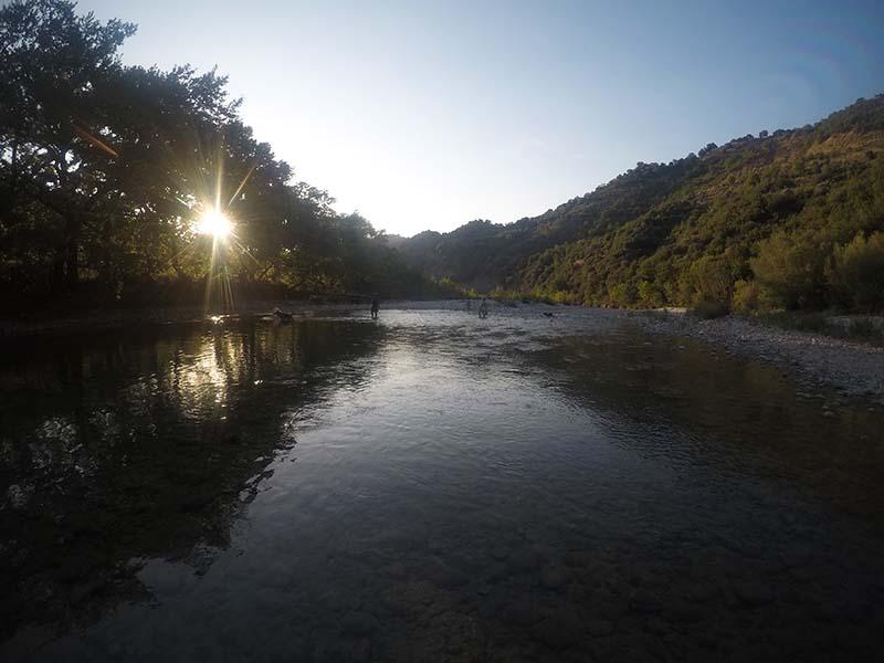Νερά στο ποταμό Εύηνο