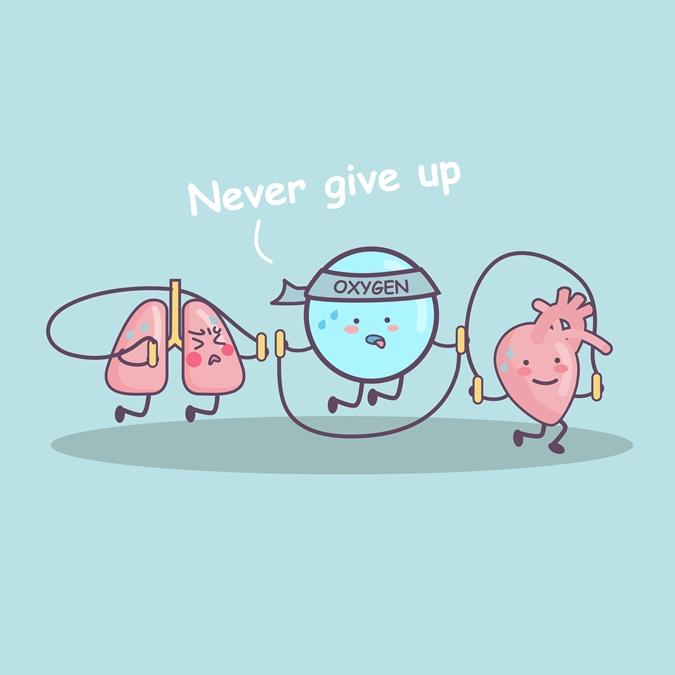 Αερόβια άσκηση καρδικά πνεύμονες και οξυγόνο