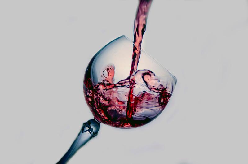Ποτήρι κόκκινο κρασί
